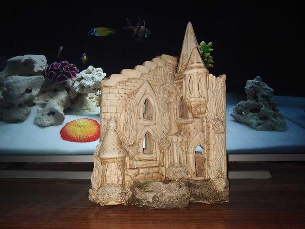 Декоративний Замок в акваріум 33х25см