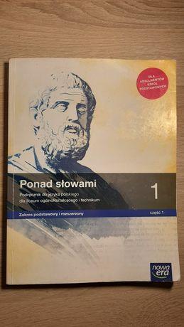 Ponad słowami 1 część 1 . Podręcznik do języka polskiego