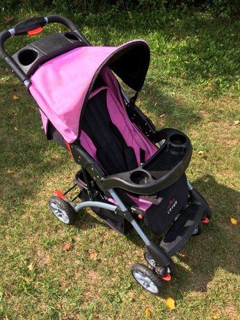 Wózek dziecięcy spacerówka Crown różowa