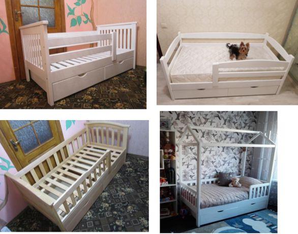 Подростковая кровать! Детская кроватка! Разные! Ящики/покраска в цене!