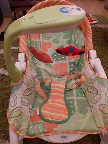 Кресло шезлонг-качалка + мобиль 3в1
