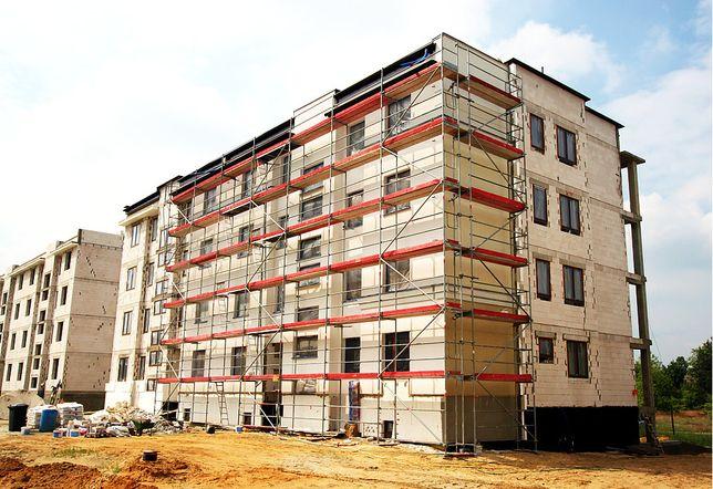 Fasadowe rusztowanie plettac Częstochowa 648 m2