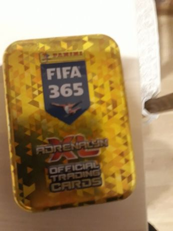 Karty piłkarskie FIFA 365 + puszka