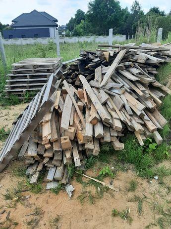 Drewno z palet, palety, drewno na opał