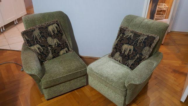 Kanapka fotele lata 70te,. PRL