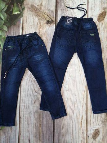 Утеплённые джинсы,на резинке, с флисовой подкладкой,Венгрия Р. 110-140