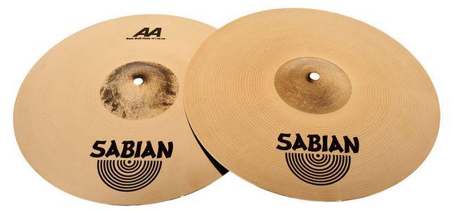 "Sabian AA Raw Bell Hi-Hat 14"" NOWY"