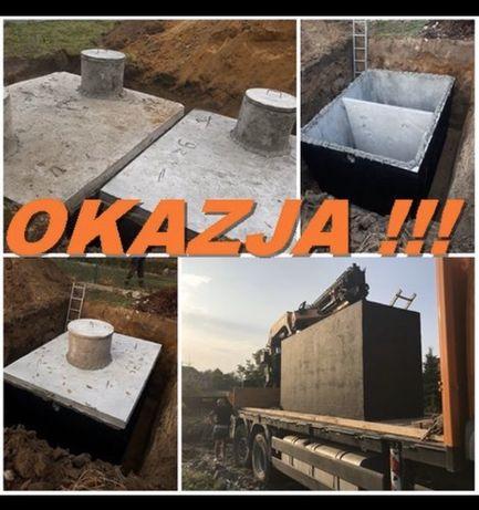 Szambo dwukomorowe z dnem ATESTOWANE Kraków Wieliczka Zakopane PZH ITB