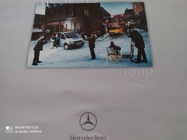 Kalendarz Mercedes 1999 r.