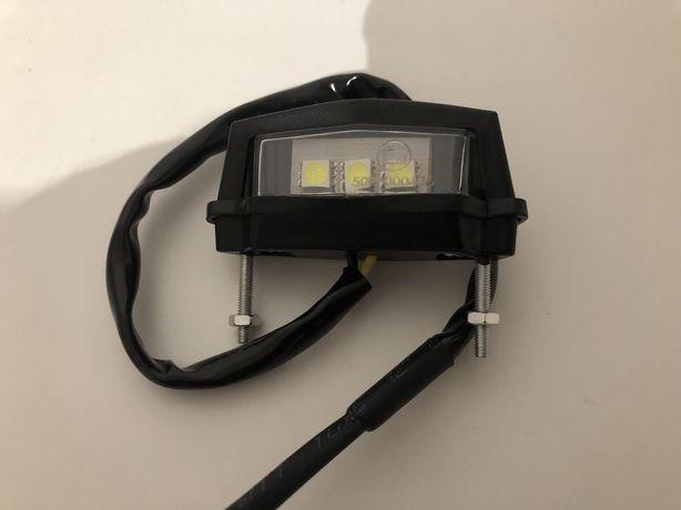 Luz de matricula mota (led branco)