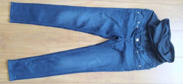 Spodnie jeansy ciążowe H&M rozm. EUR 40.Mało używane, jak nowe.