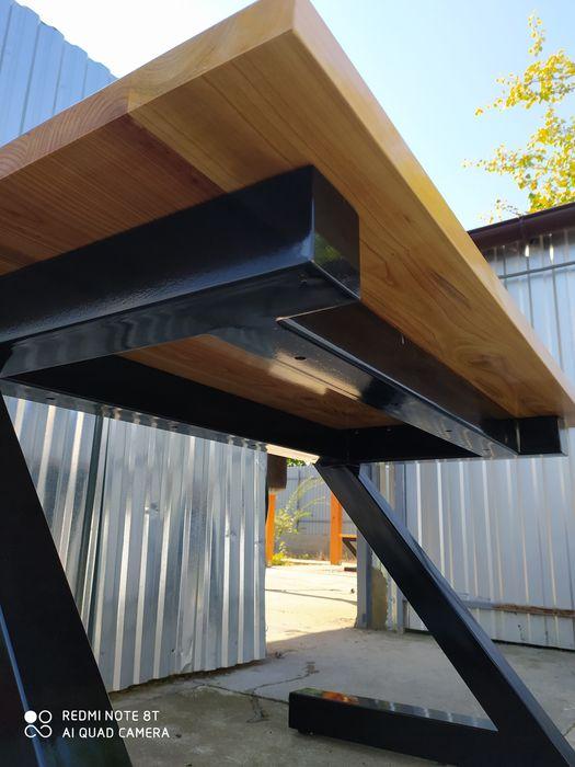 Стол в стиле Лофт, качество. Берегово - изображение 1