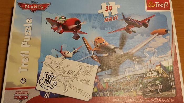 Disney Planes Puzzle Samoloty maxi Ponikiew - image 1