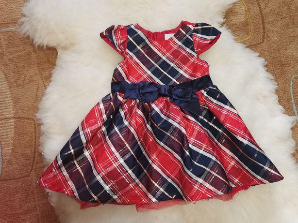 Sukienka Cool Club 9-12m 80cm jak nowa