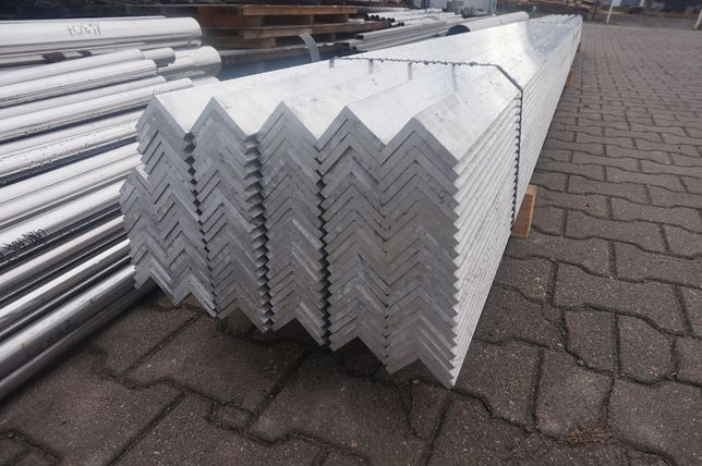 Kątownik aluminiowy, aluminium 50x50x8mm