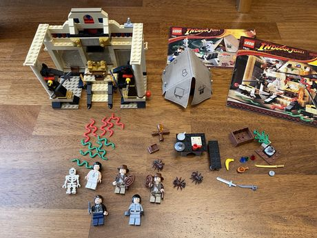 Lego Indiana Jones 7621 i 7624