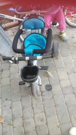 Rowerek dla chlopca niebieski