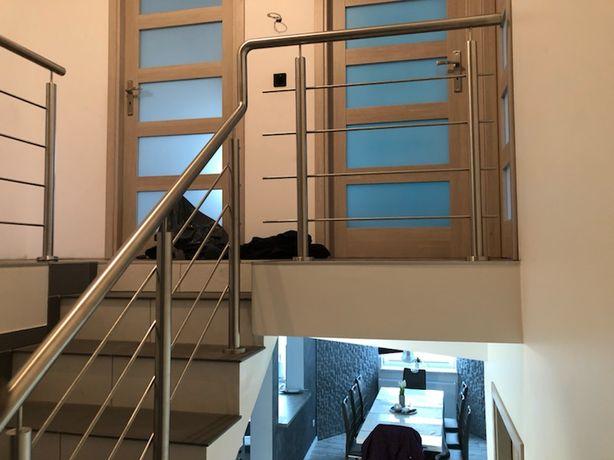 Balustrady balkonowe schodowe najtaniej 90 zł za jeden metr faktura