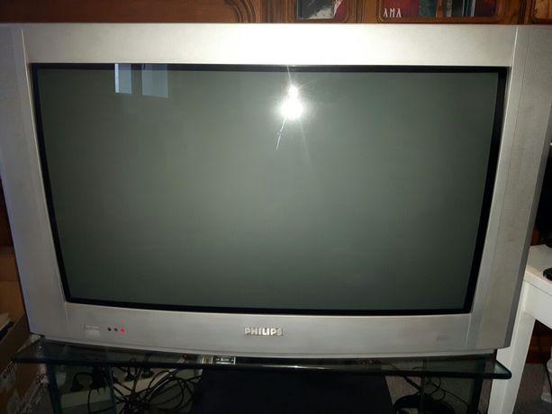 Telewizor PHILIPS 30 cali kineskopowy !100 Hz! płaski ekran!