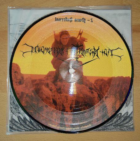 """FNI """"A Queda..."""" vinil 7"""" picture disc, edição limitada e numerada"""