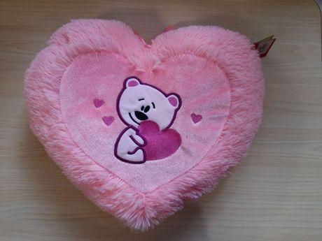 Детская подушка сердце