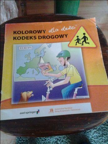 Kolorowy Kodeks Drogowy dla dzieci