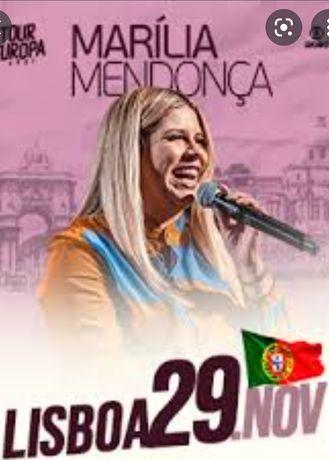 Bilhetes Marília Mendonça Meo Arena