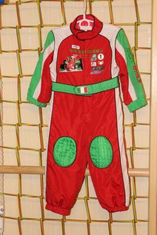 Яркий комбинезон на мальчика тачки, карнавальный новогодний костюм