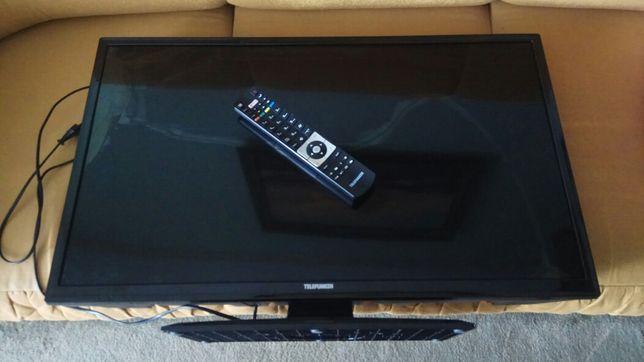 Telewizor Telefunken 32'' 32 Cale WiFi Smart TV USB HDMI Uszkodzony