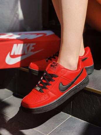 Кроссовки Nike air force Red