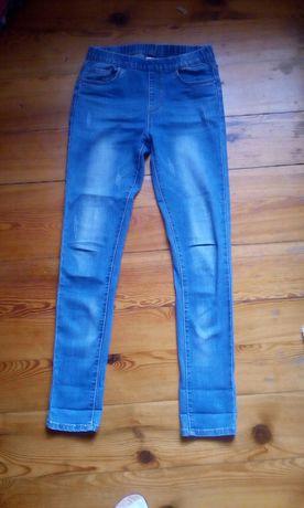 Spodnie dżinsy damskie