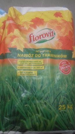 Nawóz jesienny do trawników florovit  25 kg