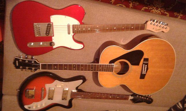 3 x Gitara z fotografii - zamienie - na gitare Fender Stratocaster USA