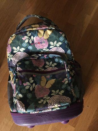 Детский американский чемодан - рюкзачёк.