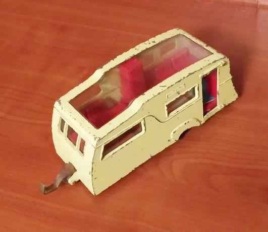 Miniatura antiga - Four Berth Caravan - Dinky Toys