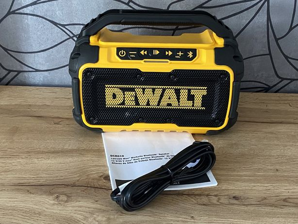 Колонка портативная аккумуляторная Bluetooth DeWALT DCR010(без АКБ и