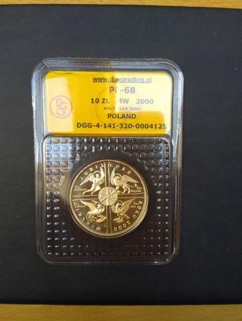 10 złotych 2000 Wielki Jubileusz srebro- opcja wysyłki