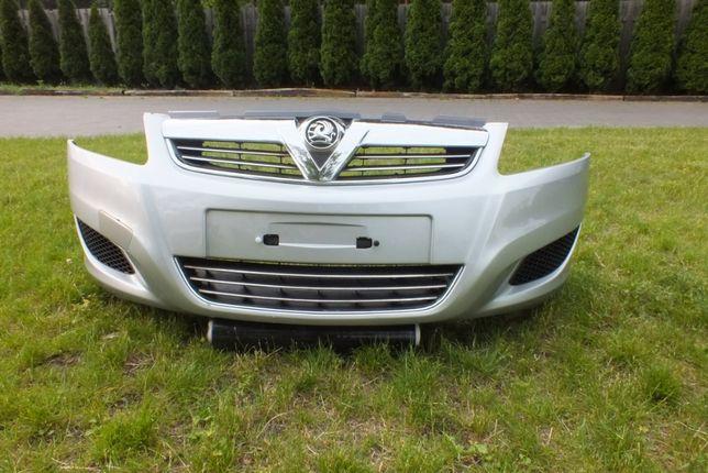 Opel Zafira B lift zderzak przód srebrny Z157