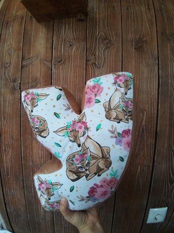 Буква подушка, именной подарок, именная декоративная подушка