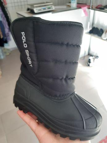Грязепруф термо обувь polo sport