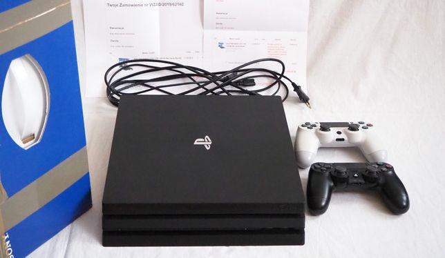 Sony Playstation 4 PRO - 1TB SSD, 2 pady, gwarancja RTV Euro AGD PS4
