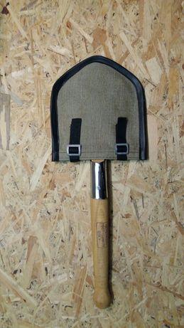 Саперная лопата из нержавейки с чехлом