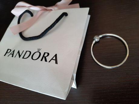 Bransoletka Nowa Pandora prezent na komunię dla dziewczynki/urodziny