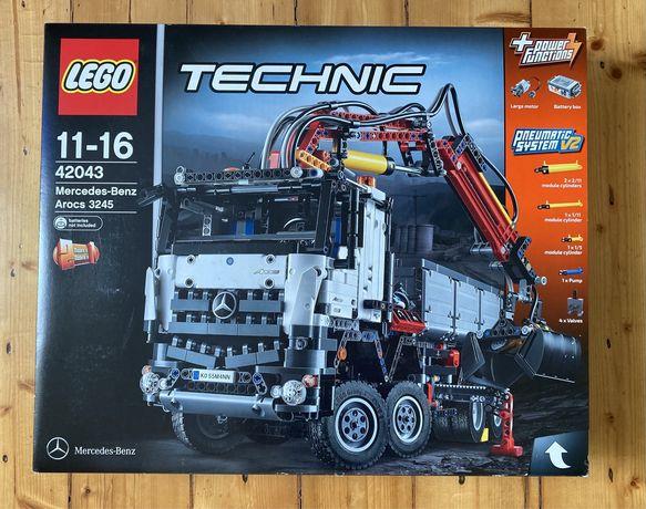 Lego Technic 42043 Mercedes-Benz Arocs 3245 z 2015 r. Unikat