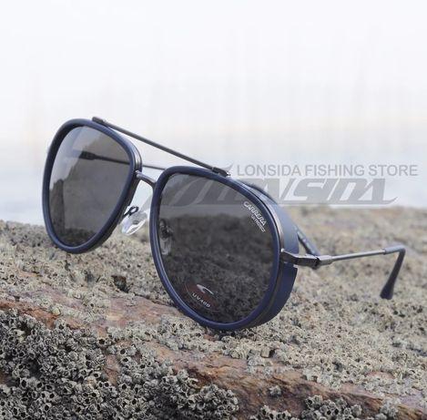 Oculos de sol carrera  c38 azul/ cinza