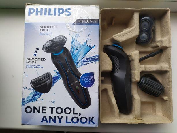 Электробритва Click & Style 2 в 1 Philips YS521/17