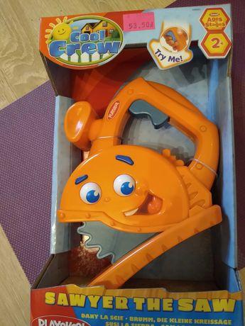 nowa PLAY SKOOL mini piła zabawka ruchoma dźwiękowa dziecięca