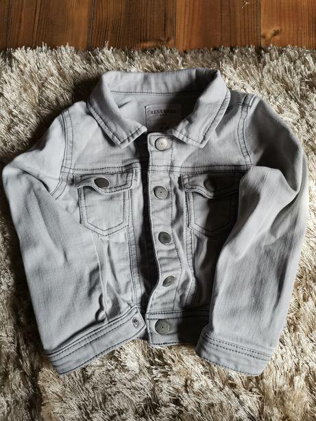 Kurtka jeansowa katana Reserved roz 92cm