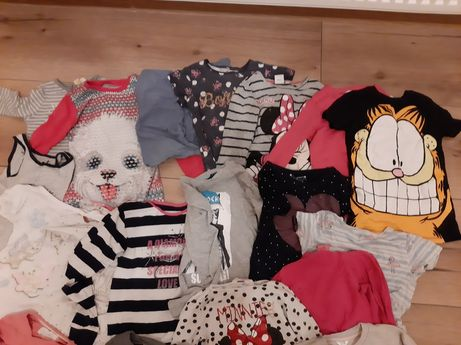 Zestaw Ubranka i zabawki dla dziewczynki 4-6