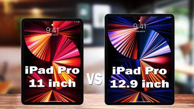 Apple iPad Pro 11 e 12.9 (2021) com chip M1 - 128GB / 256GB - SELADOS